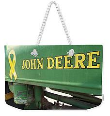 Deere Support Weekender Tote Bag
