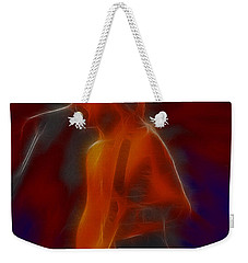 Def Leppard-adrenalize-gb13-phil-fractal Weekender Tote Bag by Gary Gingrich Galleries