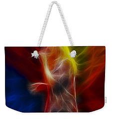 Def Leppard-adrenalize-joe-ga25-fractal Weekender Tote Bag by Gary Gingrich Galleries