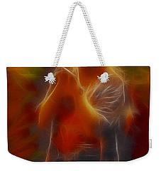 Def Leppard-adrenalize-joe-gb20-fractal Weekender Tote Bag by Gary Gingrich Galleries