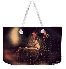 Defeated Weekender Tote Bag by Jessica Shelton