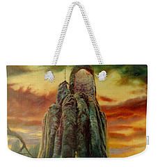 Defenders Of Rocky Desert Weekender Tote Bag