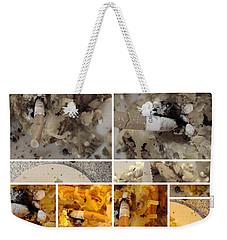 Weekender Tote Bag featuring the photograph Defense De Fumer Part One by Sir Josef - Social Critic - ART