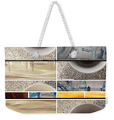 Weekender Tote Bag featuring the photograph Defense De Fumer Part Two by Sir Josef - Social Critic - ART