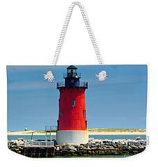 Delaware Breakwater Lighthouse Weekender Tote Bag