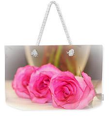 Delicate In Pink  Weekender Tote Bag