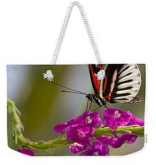 delicate Piano Key Butterfly Weekender Tote Bag