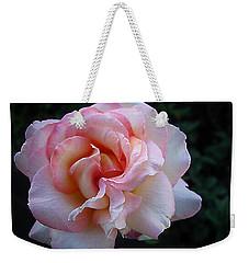Delicate Pink Weekender Tote Bag by Joyce Dickens