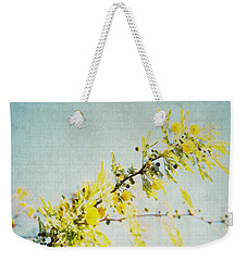 Weekender Tote Bag featuring the photograph Delight by Lisa Parrish