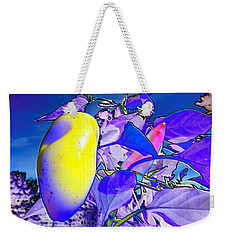 Weekender Tote Bag featuring the digital art Delight by Mike Breau
