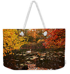 Delightful Autumn Weekender Tote Bag