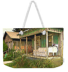 Delta Sharecropper Cabin - All The Conveniences Weekender Tote Bag