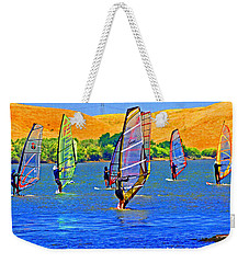 Delta Water Wings Weekender Tote Bag