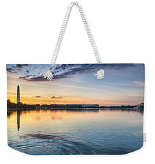 Weekender Tote Bag featuring the photograph Democracy Awakens by Sebastian Musial