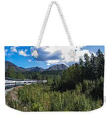 Denali Alaska Weekender Tote Bag