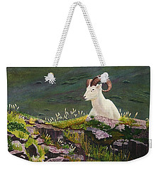 Denali Dall Sheep Weekender Tote Bag by Mike Robles