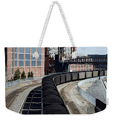 Denver Rail Yard Weekender Tote Bag
