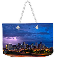 Denver Skyline Weekender Tote Bag