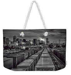 Denver's Underbelly Weekender Tote Bag