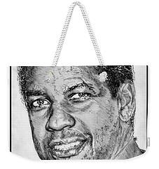 Denzel Washington In 2009 Weekender Tote Bag