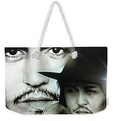 Johnny Depp - ' Depp ' Weekender Tote Bag