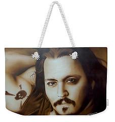 Johnny Depp - ' Depp II ' Weekender Tote Bag