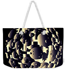 Weekender Tote Bag featuring the digital art Depth Of Thought by Susan Maxwell Schmidt