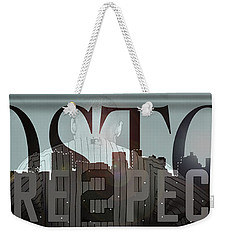 Derek Jeter - Boston Weekender Tote Bag by Joann Vitali