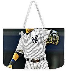 Derek Jeter Weekender Tote Bag