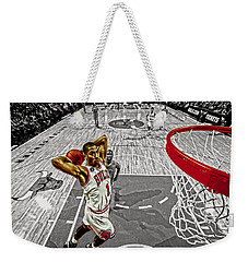 Derrick Rose Took Flight Weekender Tote Bag