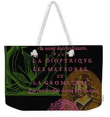 Descartes Weekender Tote Bag
