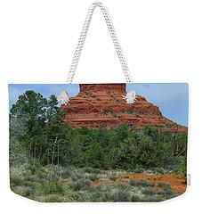 Desert Castle Weekender Tote Bag