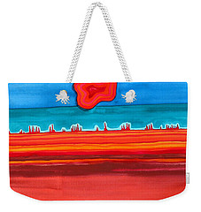 Desert Cities Original Painting Sold Weekender Tote Bag