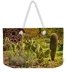 Weekender Tote Bag featuring the photograph Desert Dream by Mark Myhaver