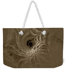 Desert Etching Weekender Tote Bag by GJ Blackman