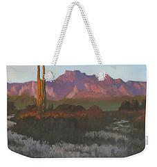 Desert Sunset Glow Weekender Tote Bag