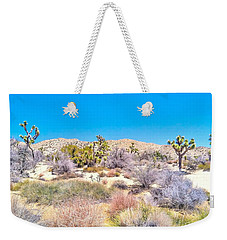 Weekender Tote Bag featuring the photograph Desert Spring by Angela J Wright