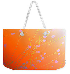 Weekender Tote Bag featuring the photograph Desert Flowers by Holly Kempe