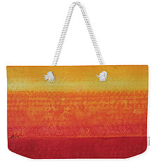 Desert Horizon Original Painting Weekender Tote Bag