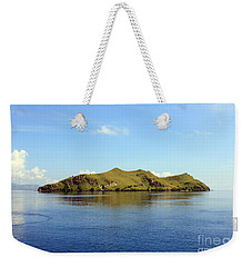 Weekender Tote Bag featuring the photograph Desert Island by Sergey Lukashin