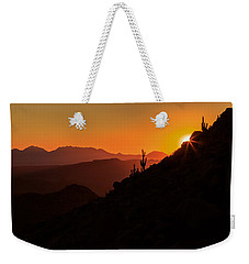 Desert Light Weekender Tote Bag