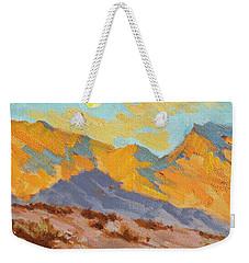 Desert Morning La Quinta Cove Weekender Tote Bag