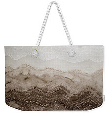Desert Mountain Mist Original Painting Weekender Tote Bag