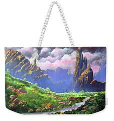 Desert Mountains Weekender Tote Bag