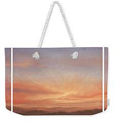 Desert Sky Triptych Weekender Tote Bag