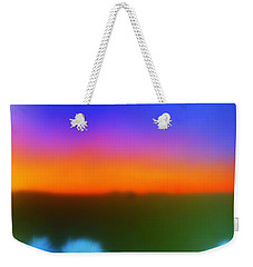 Desert Sun Abstract Weekender Tote Bag