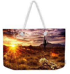 Desert Sunshine  Weekender Tote Bag