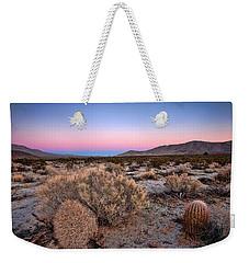 Desert Twilight Weekender Tote Bag