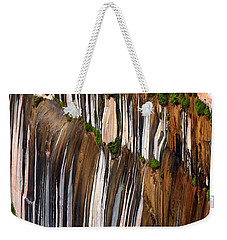 Desert Varnish Weekender Tote Bag by David Beebe