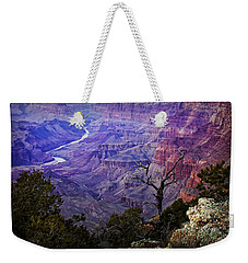 Desert View Sunset Weekender Tote Bag by Priscilla Burgers